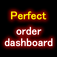 Perfect order dashboard