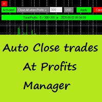 Auto Close Trades At Profits Manager