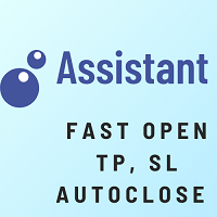 Assistant Open Sl Tp AutoClose Mt5