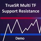 TrueSR Multi TF Support Resistance DEMO for MT4