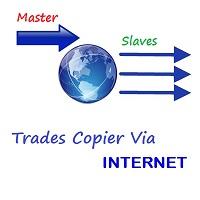Trades Copier via Internet