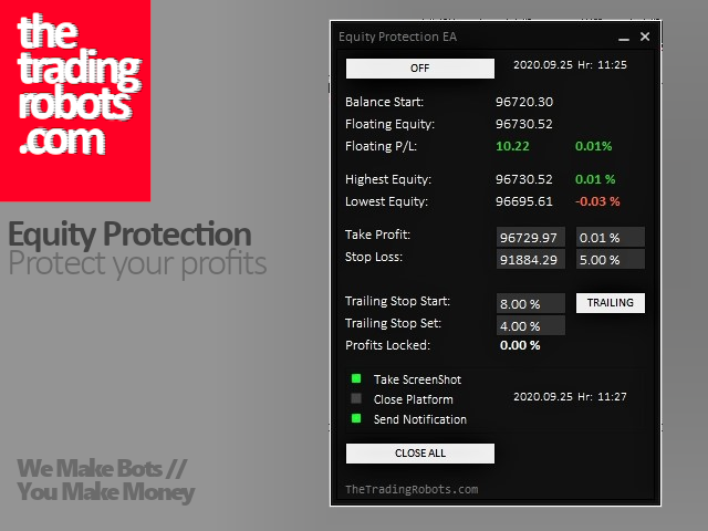 Equity Protection EA FREE