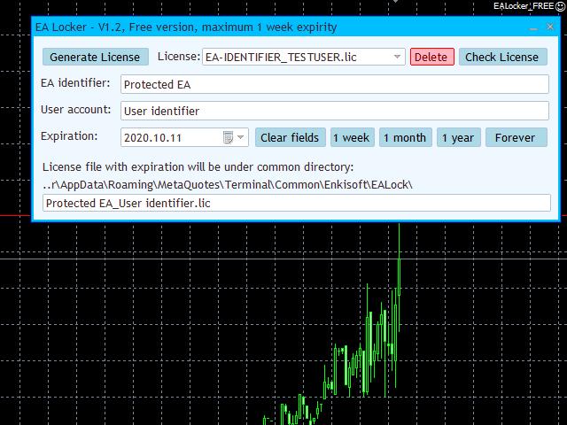EA Locker EA Protector MT5 Demo
