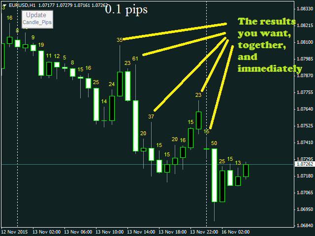 Candle Pips MT5