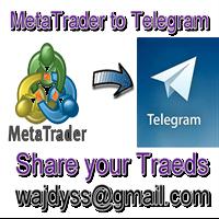 Copy Open Close orders from Telegram MT5