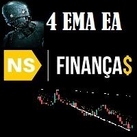 NS Financas 4 EMA Moving Average Strategy EA