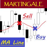MA Line Martingale MT5