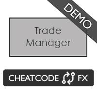 Cheatcode FX Trade Manager Demo