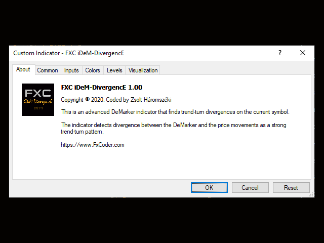 FXC iDeM DivergencE MT5