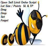Open Sell Limit Order