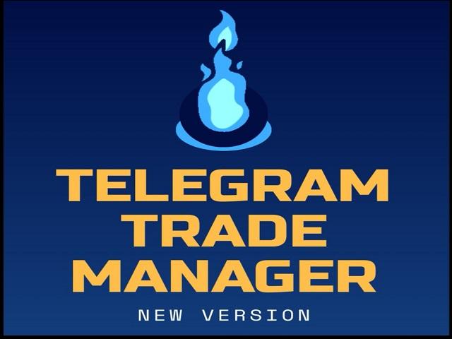Telegram Trade Manager MT5 Full