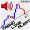MZ Trend Line Alert Demo