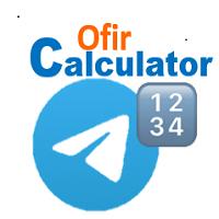 Ofir Telegram Calculator