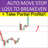 Auto Move to BE and Partial Profits