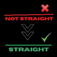 Straight Horizontal Lines