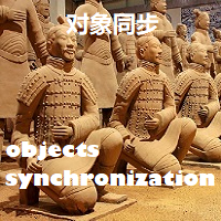 Objects synchronization