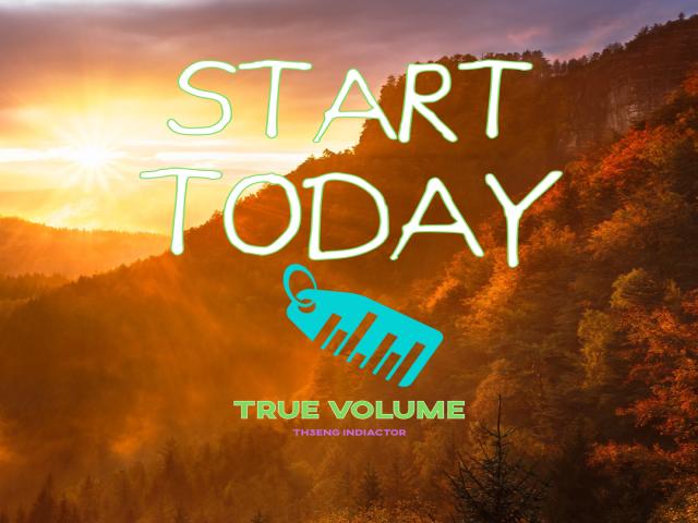 Th3Eng True Volume signals MT4