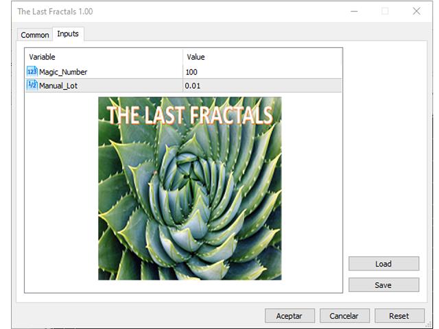 The Last Fractals MT5