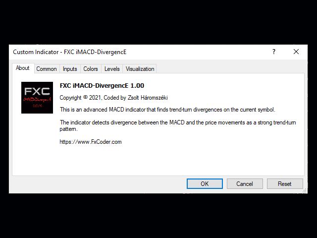 FXC iMACD DivergencE MT5