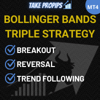 TakePropips Bollinger Bands Triple Strategy Pro