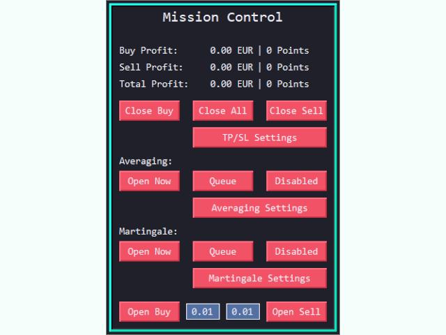 Mission Control Trading Panel MT5