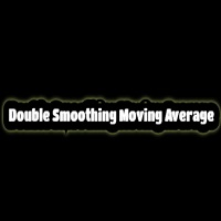 Moving average double smoothing
