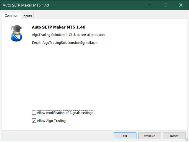 Auto SLTP Maker MT5