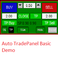 Auto TradePanel Basic Demo