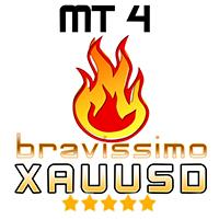 EA Bravissimo XAUUSD h1 MT4