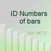 ID Numbers of bars for MT5