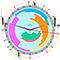 News Clock demo