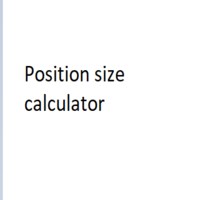 Lot Size Risk Position Size Calculator
