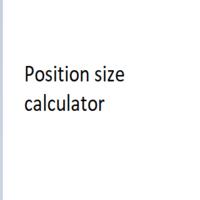 Lot Size Risk Position Size Calculator