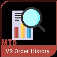 VR Orders History MT5