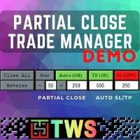 Partial Close Trade Manager Demo