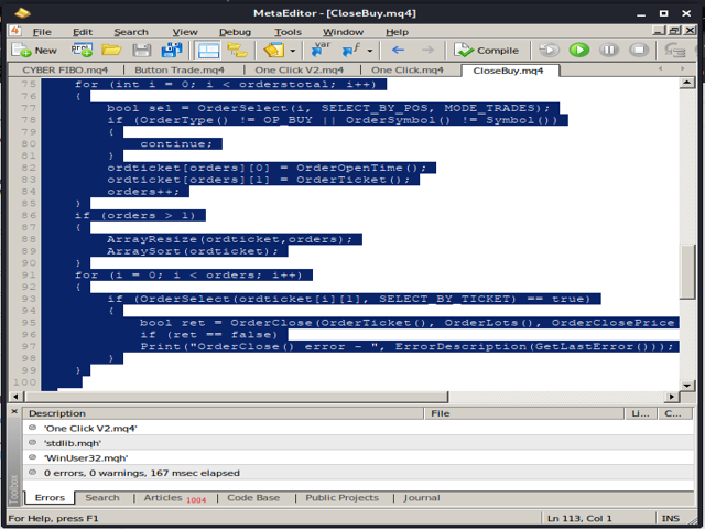 Script Delete Pending Orders