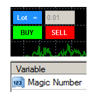Manual Open Trade with Magic Number