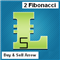 Two Fibonacci lines with Buy and Sell arrows MT5