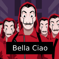 Bank Heist Bella Ciao