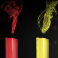 Color Candles cross Kijun Sen