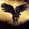 Pegasus Winged Black Horse