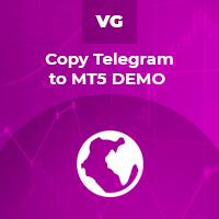 Copy Telegram to MT5 DEMO