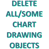 Quick Delete Chart Drawing Objects