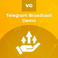 Telegram Broadcast Demo