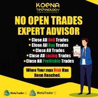 No Open Trades MT5