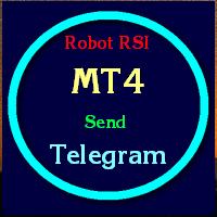 Robot sends image signal to telegram