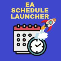 EA Schedule Launcher