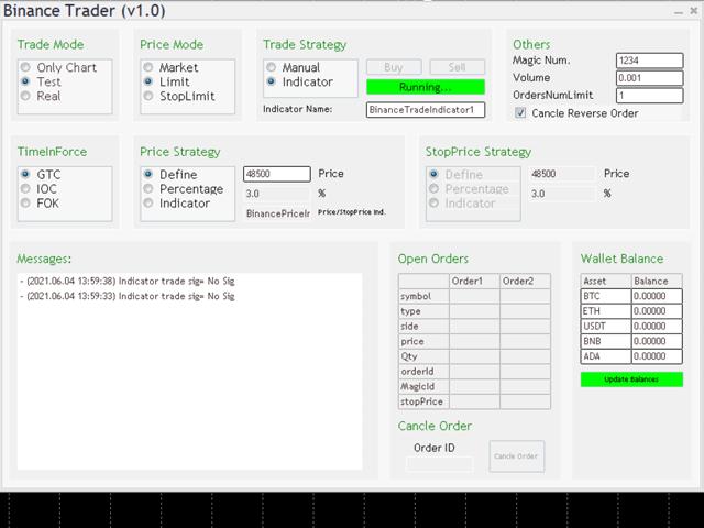 Binance Full Trader