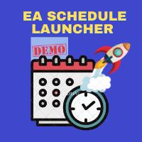 EA Schedule Launcher Demo