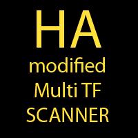 Heiken Ashi Scanner 4 Timeframes NRP